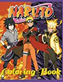 Naruto: Coloring book: 60 pages for coloring for children and adults. For all fans of the cartoon hero