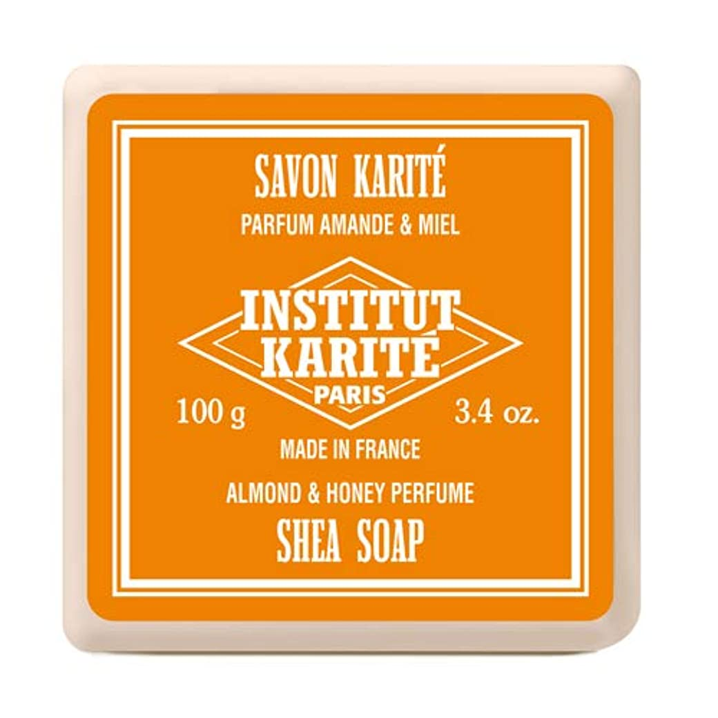 インスティテュート?カリテ(INSTITUT KARITE) INSTITUT KARITE インスティテュート カリテ Shea Wrapped Soap シアソープ 100g Almond & Honey アーモンド...