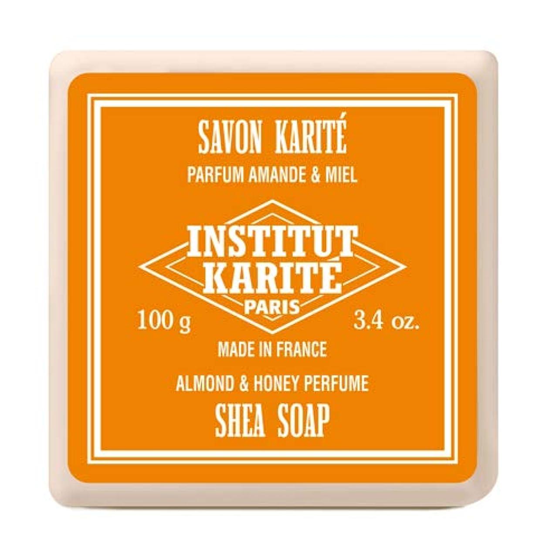 割り当てリテラシー適度にINSTITUT KARITE インスティテュート カリテ Shea Wrapped Soap シアソープ 100g Almond & Honey アーモンド&ハニー