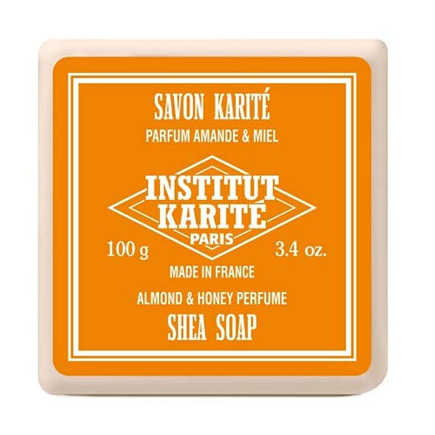 カカドゥ弱めるセントインスティテュート?カリテ(INSTITUT KARITE) INSTITUT KARITE インスティテュート カリテ Shea Wrapped Soap シアソープ 100g Almond & Honey アーモンド&ハニー