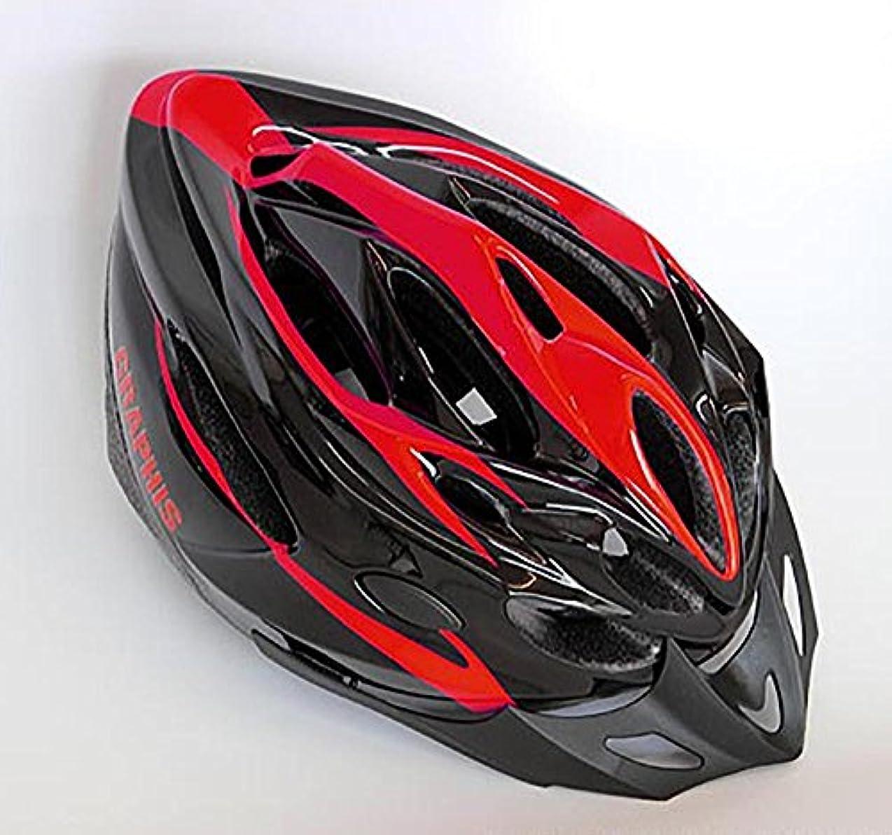 道を作るタイプライタースライムGRAPHIS(グラフィス) オリジナル 自転車ヘルメット GR-I-MV28