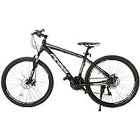 (オーエスジェー) OSJ 自転車 アルミマウンテンバイク 26インチ アルミフレーム MTB フロントサスペンション シマノ21段変速