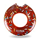 Klearlook ドーナツフロート浮き輪 子供用 直径60cm TPU素材 (チョコレート)