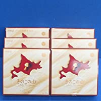 meji 北海道限定 きのこの山 ホワイトプレミアム 10袋入り×6個