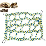 Alfie Pet - Samar Hanging Net for Mouse, Chinchilla, Rat, Gerbil and Dwarf Hamster - Color: Green