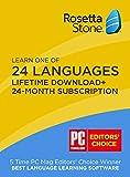 ロゼッタストーン 最新版 24言語 レベル1-5セット v4 (Mac/Win) + 24ヶ月 Online Subscription(iPad/iPhone/Android)