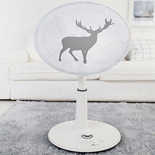 扇風機カバー 扇風機安全カバー セーフティーネット 扇風機 安全 ネット 指 侵入 防止 可愛風 羽根径30?40CM 対応 (鹿)