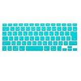 Topfit JISキーボード(日本語配列)用 MacBook Air Pro Retian13/15/17インチ対応 カラフルキーボードシート 防塵 防水 マックブック Appleノート用 パソコンアクセサリー キーボードマルチカバー  (日本語版ブルー)