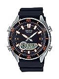 [カシオ] CASIO 腕時計 Men's 'Ana-Digi' Quartz Metal and Resin Casual Watch, Color:Black クォーツ AMW-720-1AVCF メンズ 【並行輸入品】