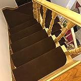 Four Piece 階段 滑り止め マット 15枚 滑り止めマット 階段の滑り止め すべり止め すべりどめ ステッカー diy 防音 猫 犬 ペット