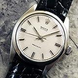 ROLEX(ロレックス)OYSTER(オイスター)Ref.6426 オリジナルシルバーダイヤル サテン ノンデイト プレシジョン 1967年 アンティーク 時計 [並行輸入品]