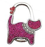 [セオヴェル]THEOVEL 猫 型 バッグ ハンガー 傘掛け 付き 3way チャーム キャット T0351 (ピンク)