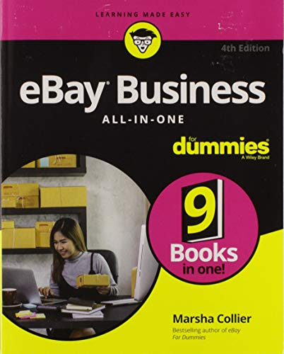 Download eBay Business All-in-One For Dummies (For Dummies (Business & Personal Finance)) 1119427711