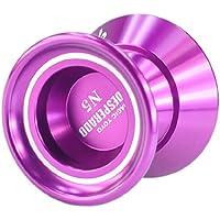 Magic YoYo N5 Desperado Alloy Aluminum Professional Yo-Yo Toy Toys purple by Pinkcoo by Pinkcoo