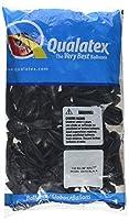 "La Balloons 43579 Qualatex 5"" Pearl Onyx Black Latex Balloons (100 Pack)"