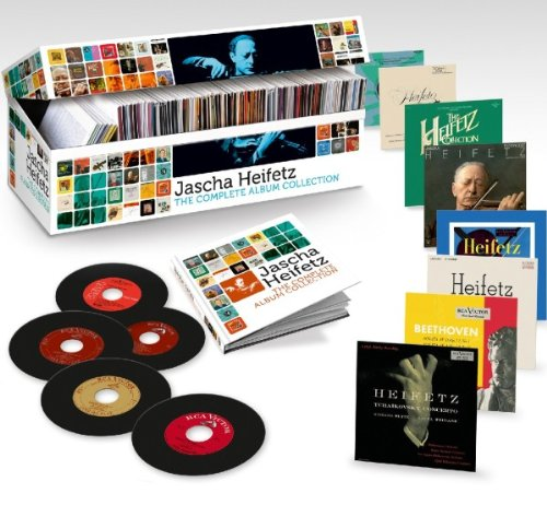 The Complete Album Collection [Box set, Limited Edition, Import, From US] / Jascha Heifetz (CD - 2011)