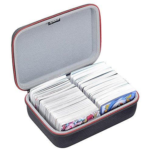 Pokemon Trading Cards対応 ケース RLSOCO高品質カードゲーム収納ケース Pokemon Trading Cards、デュエル・マスターズ、遊戯王OCG、ウノ UNO(ウノ アタック)、ヴァイスシュヴァルツ、ドラゴンボールカードゲーム等対応 カードを600収納できます