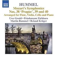 Hummel: Mozart's Symphonies Vol. 1-Nos. 38 'prag