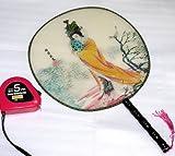 中国伝統柄 古典宮 扇子