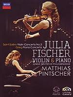 サン=サーンス:ヴァイオリン協奏曲第3番、グリーグ:ピアノ協奏曲 ユリア・フィッシャー(ヴァイオリン、ピアノ)、ピンチャー&ユンゲ・ドイチェ・フ
