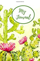 My Journal: 200 College ruled lined pages for personal reflection, to do lists or note taking and important reminders.