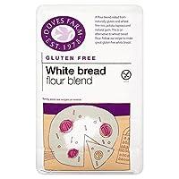 Doves Farm Gluten & Wheat Free White Bread Flour Blend (1Kg) 鳩ファームグルテンと小麦無料の白パン小麦粉ブレンド( 1キロ)