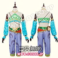ゼルダの伝説 ブレス オブ ザ ワイルド風 リンク 砂漠の女性服風 コスプレ衣装 (オーダーメイド)