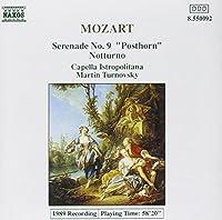 Mozart;Serenade No.9/Nottur