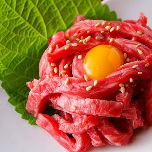 生食用 宮崎県産 黒毛和牛ユッケ50g×10袋 (厚生労働省 新基準で製造した商品です。)