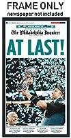 (Newspaper Frame - No Mat) - The Philadelphia Inquirer - Philadelphia Eagles Newspaper Frame