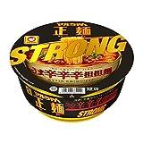 マルちゃん 正麺 カップ うま辛辛辛担担麺 STRONG 124g×12個入り (1ケース)