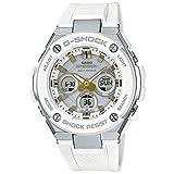 【セット】クロス・1本用時計ケース(WH) 付 [カシオ]CASIO 腕時計 G-SHOCK ジーショック Gスチール 電波ソーラー GST-W300-7AJF メンズ