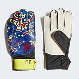 adidas(アディダス) サッカー ジュニア用 キーパーグローブ プレデター MN ソーラーイエロー/フットボールブルー/アクティブレッドS19 6 FMF04