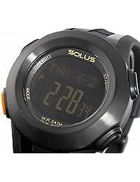 ソーラス SOLUS 心拍計測機能付き デジタル 腕時計 01-101-001 [並行輸入品]