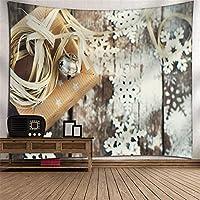TLMY クリスマスツリータペストリー3dデジタル印刷ポリエステル壁掛けテレビの背景ウォールホームぶら下げ布寝室のリビングルームタペストリーピクニック毛布壁マウントアート壁の装飾 タペストリー (Color : 018)