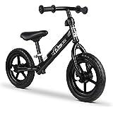 Rigo 12 Inch Kids Balance Bike - Black