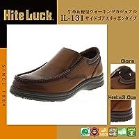 アシックス商事 紳士メンズ コンフォートデイリーウォーキングシューズ Hite Luck(ハイテラック) IL-131 ブラウン 26.5cm 【人気 おすすめ 】