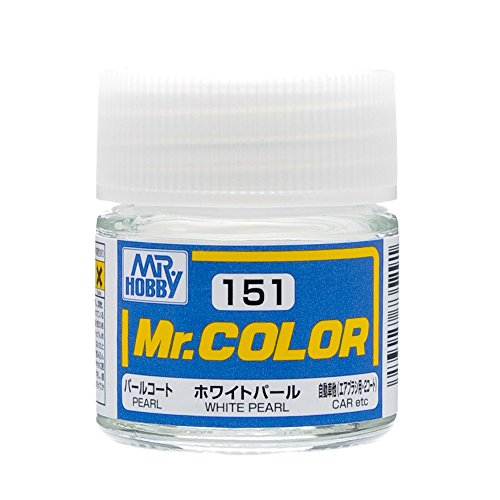 GSIクレオス Mr.カラー ホワイトパール 10ml C151