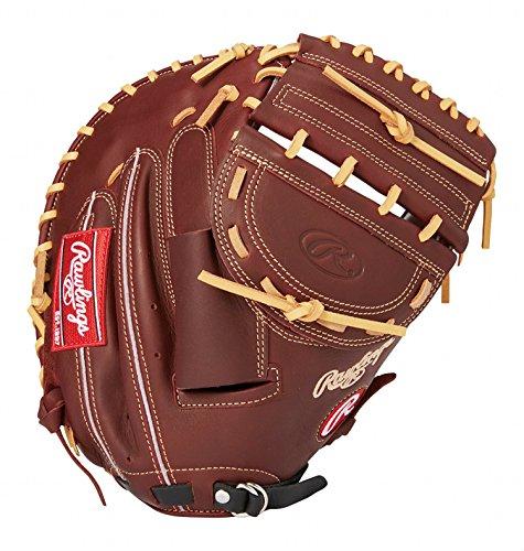 ローリングス(Rawlings) ソフトボール用 ソフト HYPER TECH DP カラーズ[キャッチャー用] GS8FHTC23F シェリー/ブラック [ミットサイズ 33.0] [33inch] LH(Right hand throw)※右投用