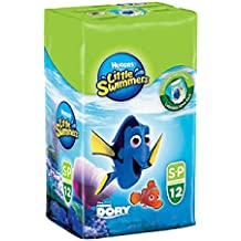 Huggies Little Swimmers Disposable Swimpants, Size: Small (7-12KG), 12 Pack
