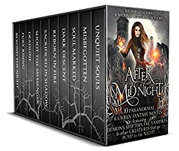 After Midnight: 10 Paranormal Romance & Urban Fantasy Novels Featuring Demons, Shifters, Fae, Vampires, & Other Creatures That Go Bump in the Night by [Pope, Christine, Parrish, Kat, Gockel, C., Taylor, Nicole R., Mackenzie, Kasey, Reine, SM, DaCosta, Pippa, Blackstream, Jennifer, Galenorn, Yasmine, Gleason, Colleen]