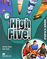 High Five! English Level 6 Pupil's Book Pack with eBook