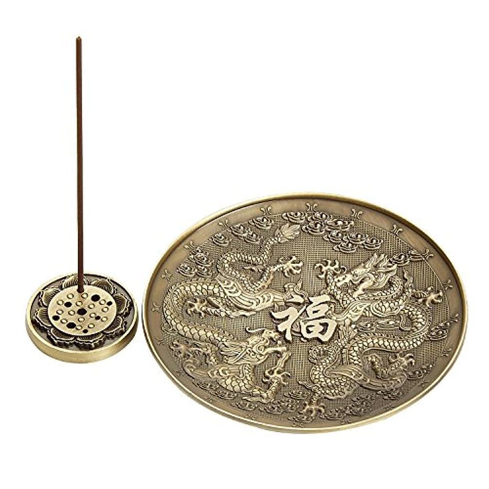 ポインタフィットネスビットUoonドラゴン香炉ホルダーのスティック、コイルIncense、Feng Shui Prodcut、ホームデコレーション UOON-DR001