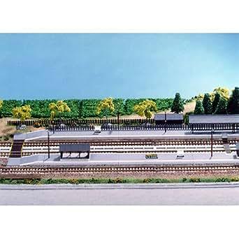 カトー Nゲージ ストラクチャー 鉄道関連施設 ローカルホームセット イージーキット #23-130