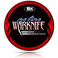 Warknife PEライン 釣り糸 X8 (150m 200m 300m 500m 1000m) (1号 1.2号 1.5号 2号 2.5号 3号 3.5号 4号 5号 6号 7号 8号 9号 10号) (5色 マルチカラー/白 ホワイト/黄色 イエロー/ダックグリーン/グレー) 8編