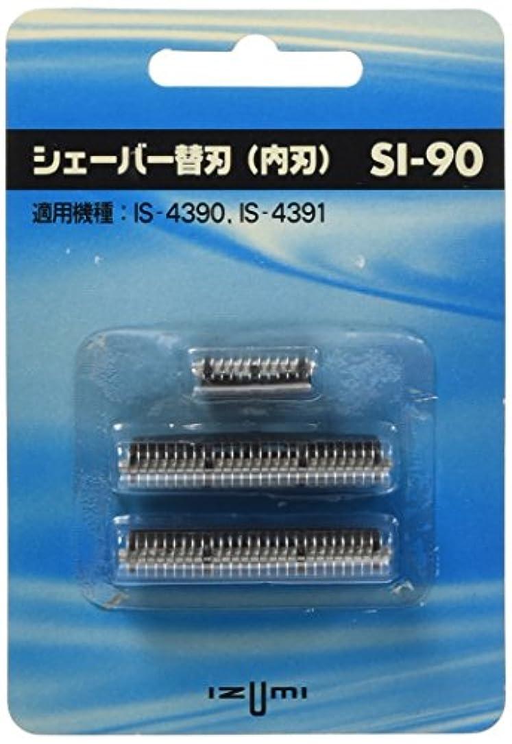 鍔合図グリットIZUMI 往復式シェーバー用内刃 SI-90
