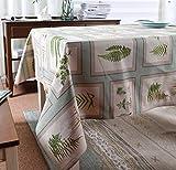 アメリカンカントリースタイルのコーヒーテーブルクロステーブルクロス厚手の綿布テーブルカバーベールダンサーシリーズ (サイズ さいず : 100*145)