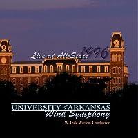 1996 Live at All-State: The University of Arkasnsas Wind Symphony【CD】 [並行輸入品]