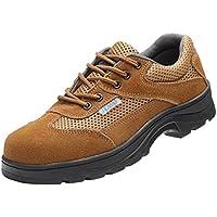 yotijar Men Non-slip Safety Work Shoes Resistant To - EU 44 US 10.5 UK 9.5