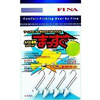 ハヤブサ(Hayabusa) FINA メバル専用ジグヘッド まっすぐ #8/1g FS200-8-1